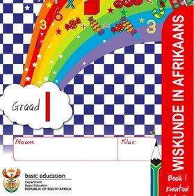Gr. 1 Rainbow Wiskunde Boek 1