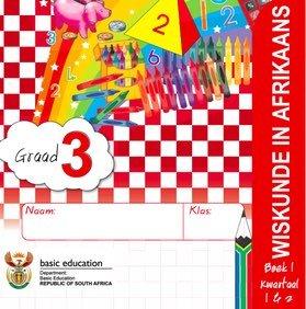 Gr. 3 Rainbow Wiskunde Boek 1