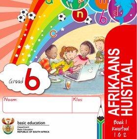 Gr. 6 Rainbow Afrikaans Huistaal Boek 1