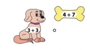 Addition worksheet match:connect